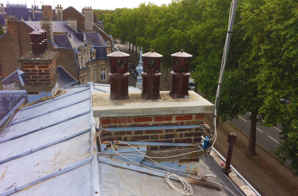 Rénovation cheminée Cambrai